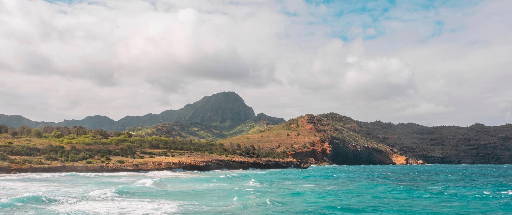 A stunning beach in Hawaii