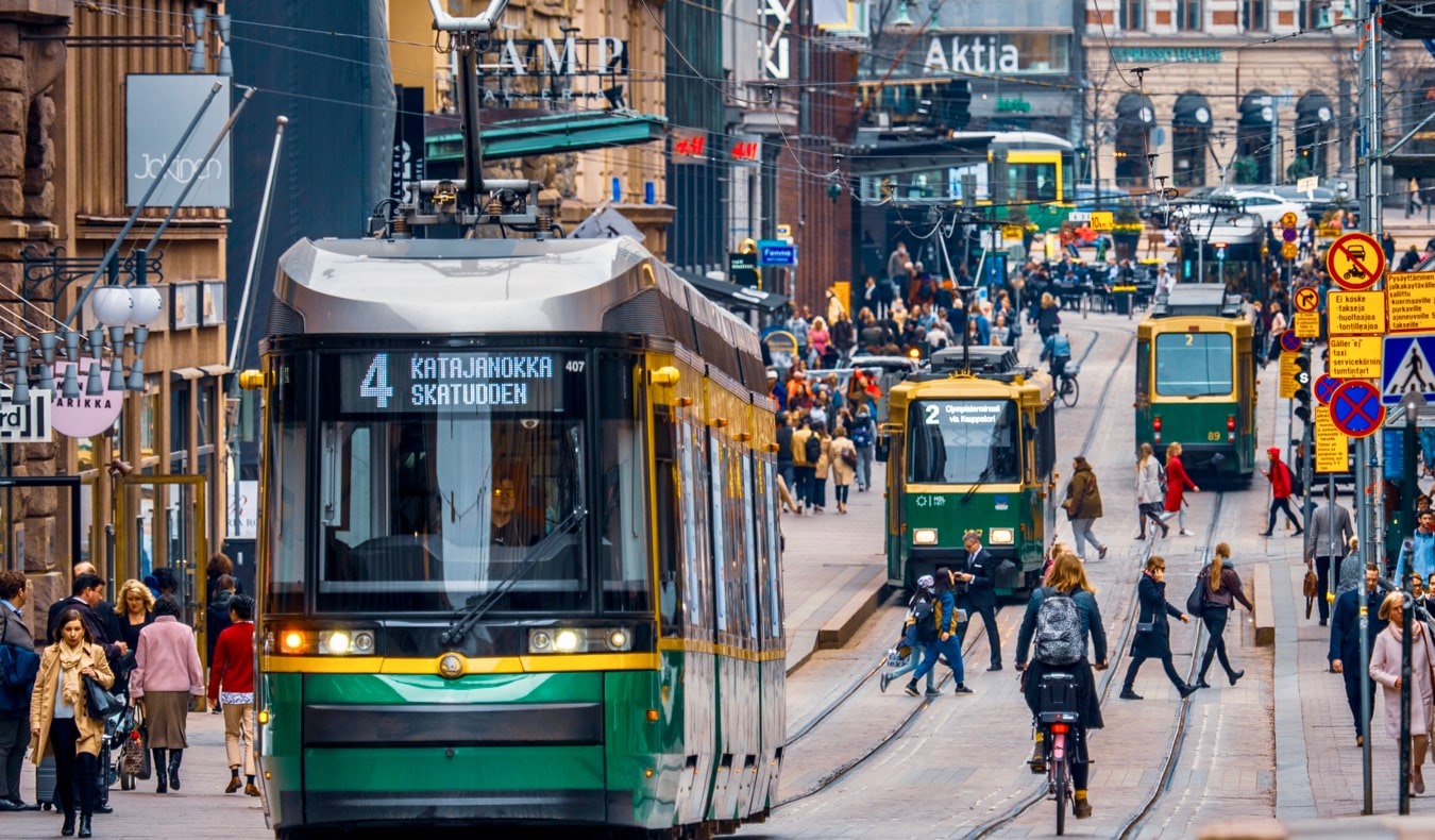 Оживленные улицы города Хельсинки, Финляндия достопримечательности Хельсинки 18 лучших достопримечательностей Хельсинки helsinkithings1a