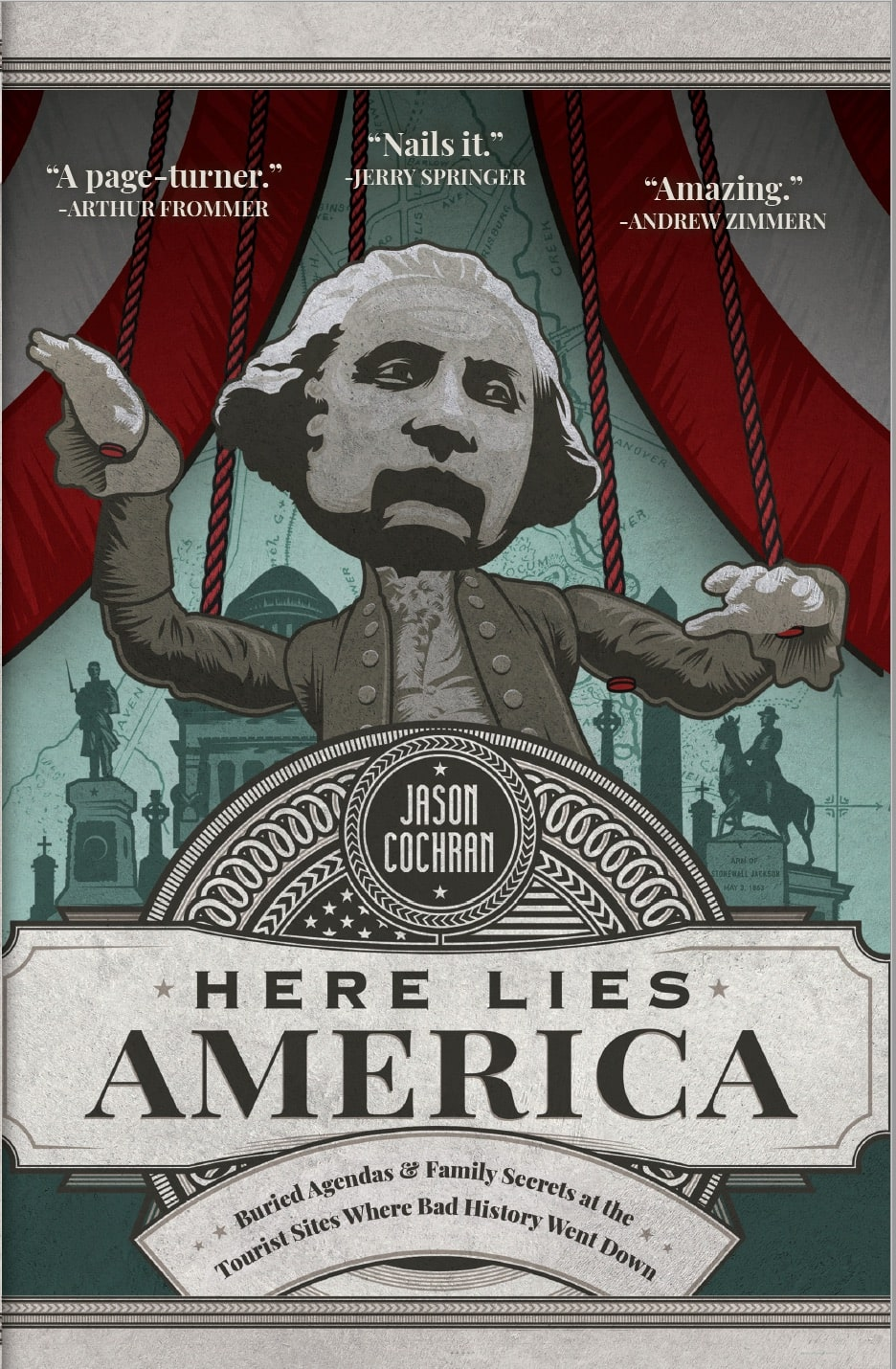 Here Lies America book cover