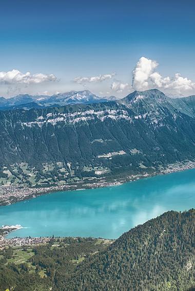 Lake Thun in Interlaken