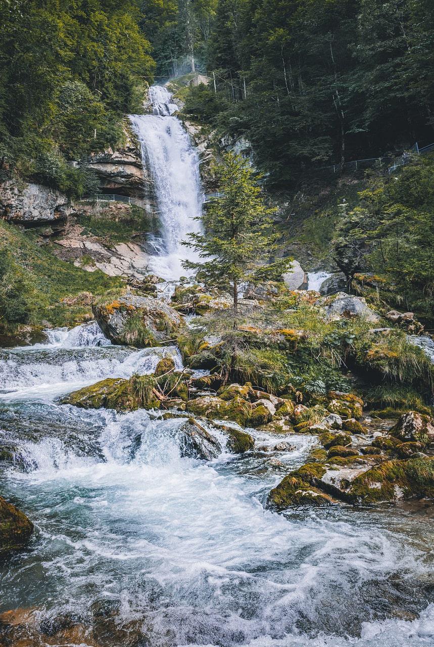 Giessbach Waterfalls