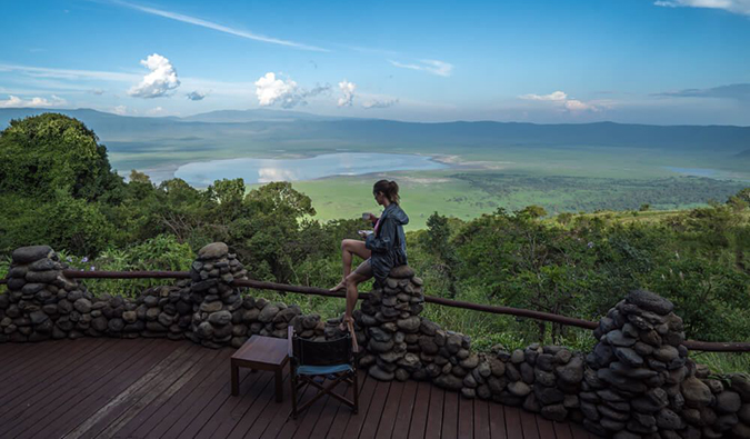 Kristin Addis in Tanzania