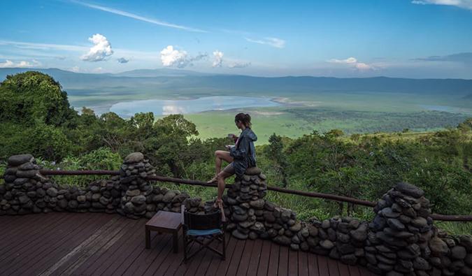 Kristin Addis na Tanzânia