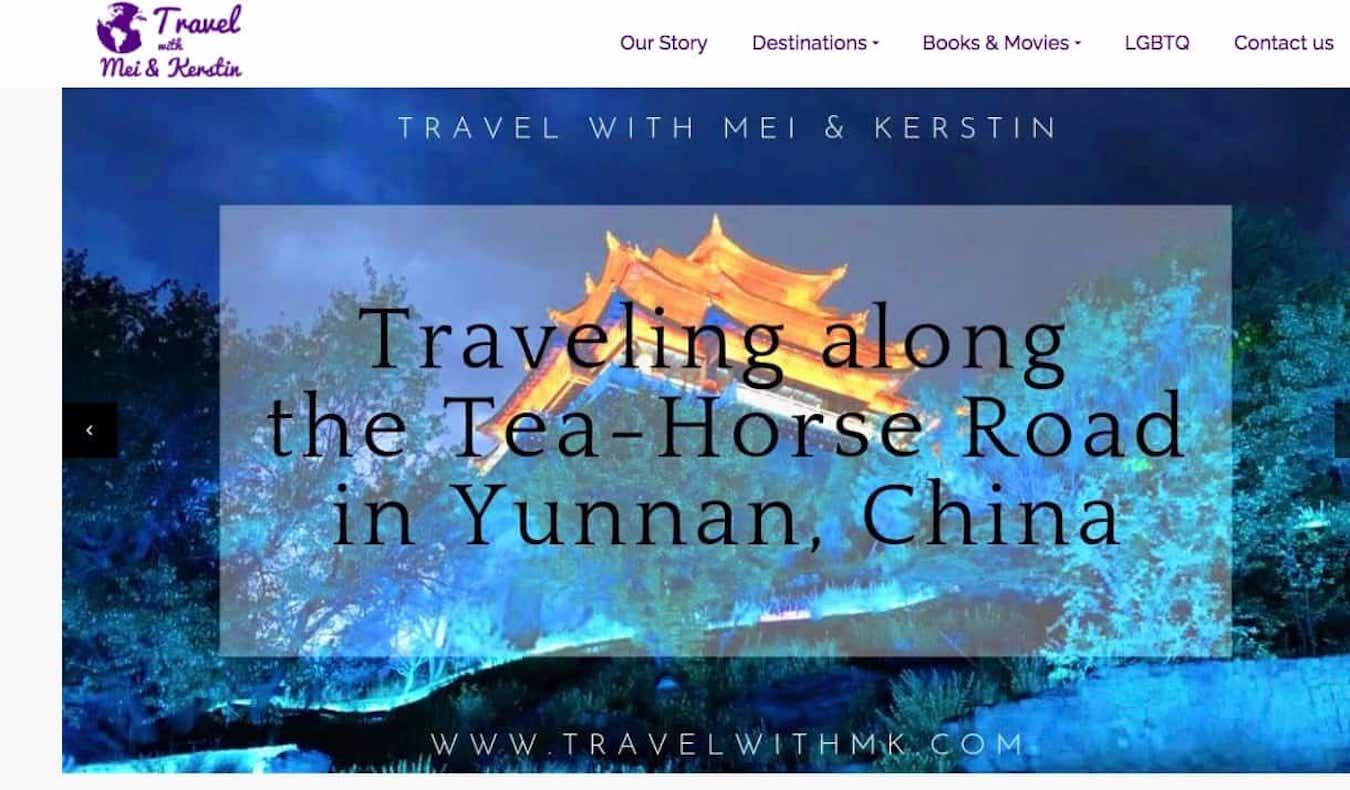 Travel with MK website screenshot