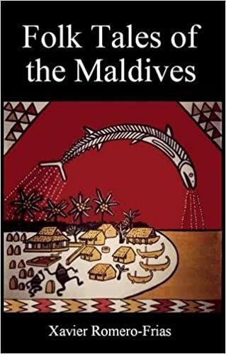 Folk tales of the Maldives book cover