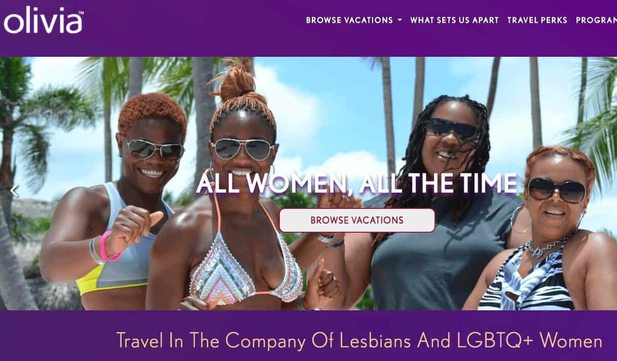 finding a lesbian cruise with Olivia.com