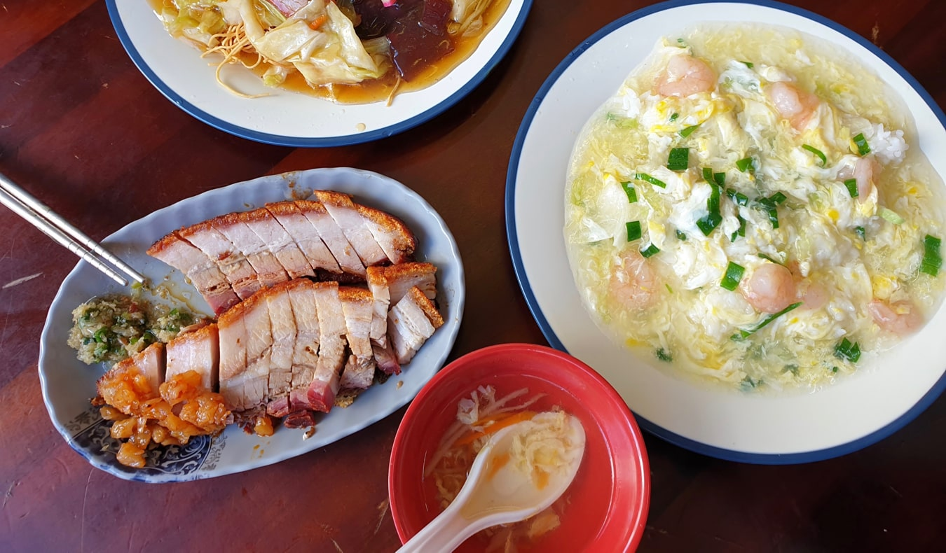 Delicious local food in Taipei, Taiwan