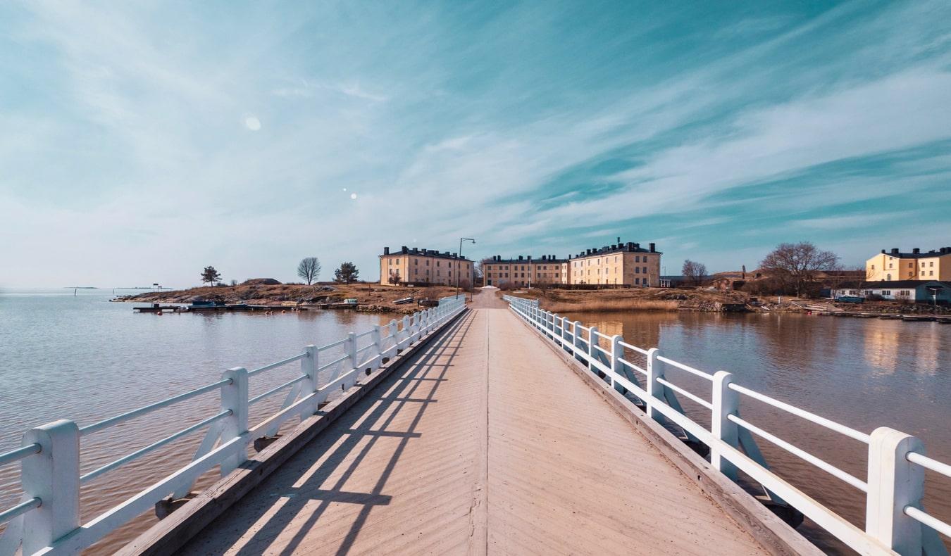 The Suomenlinna fortress in Helsinki, Finland