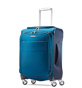 samsonite recycled eco-friendly travel luggage