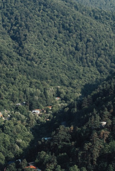 Dilijan national park in Armenia and Nagorno-Karabakh