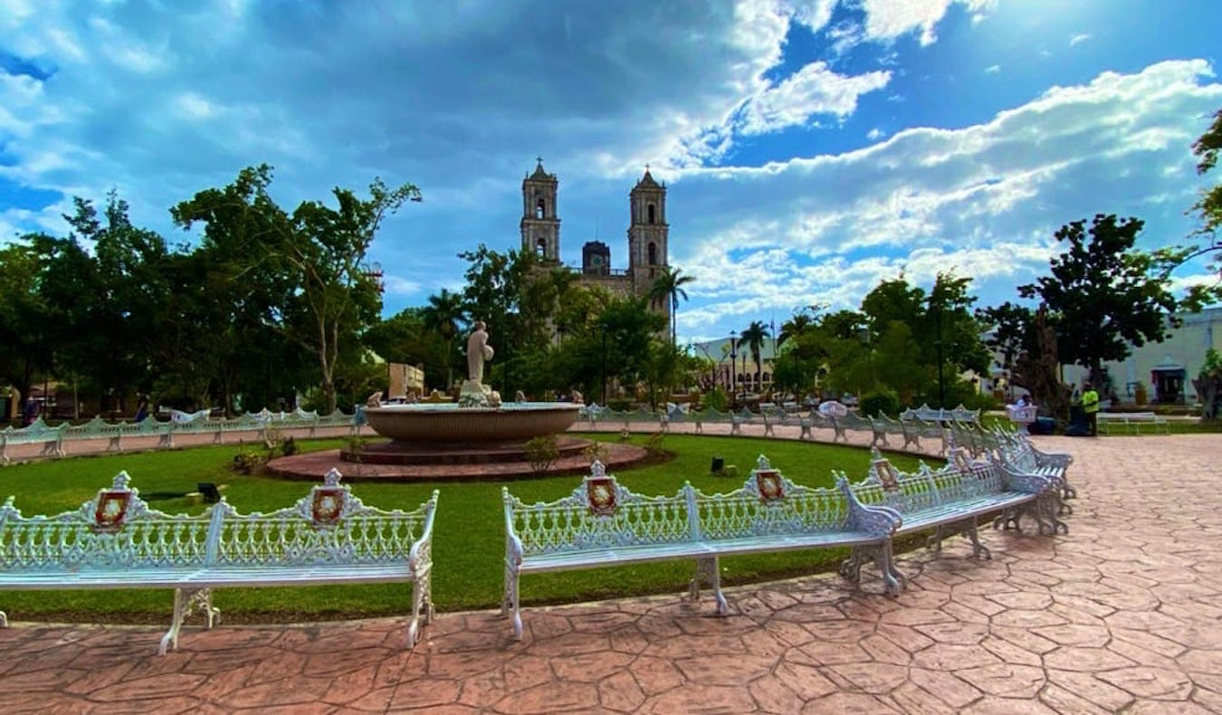 A relaxing park in Mexico