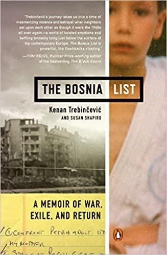 The Bosnia List book cover