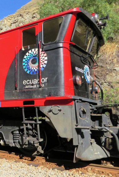 The Devil's Nose train in Ecuador