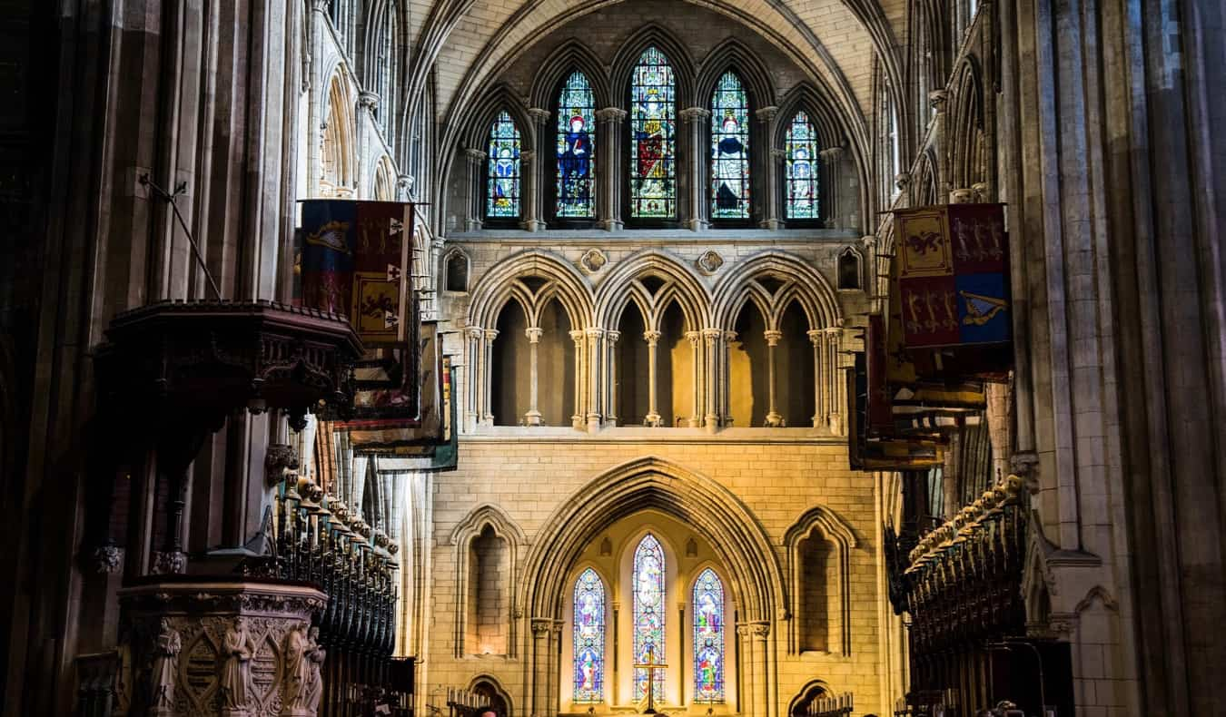 Saint Patrick's Cathedral in Ireland