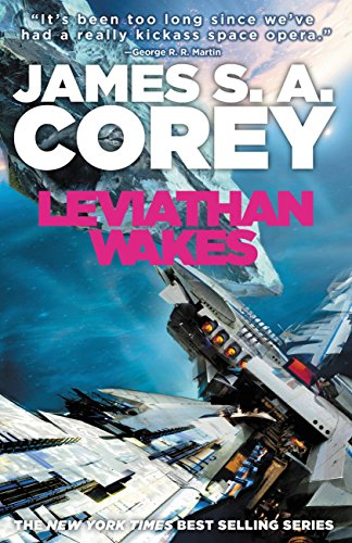 The Expanse book cover