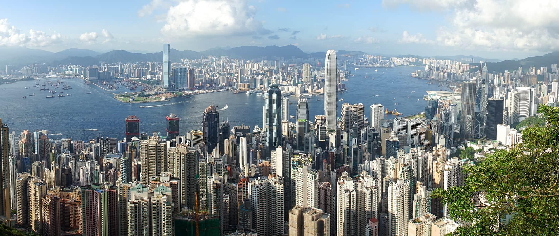 Hong Kong's stunning skyline