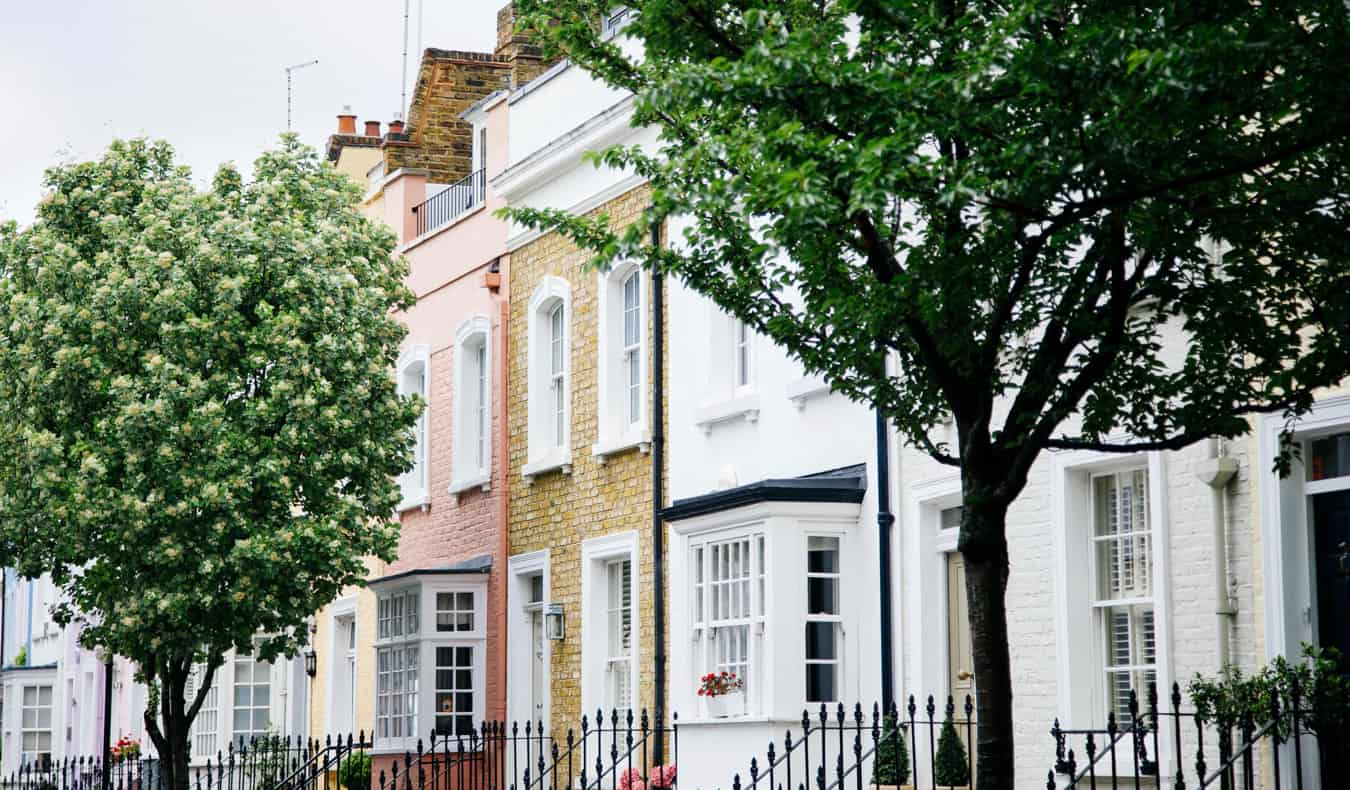 The historic houses of Chelsea, London