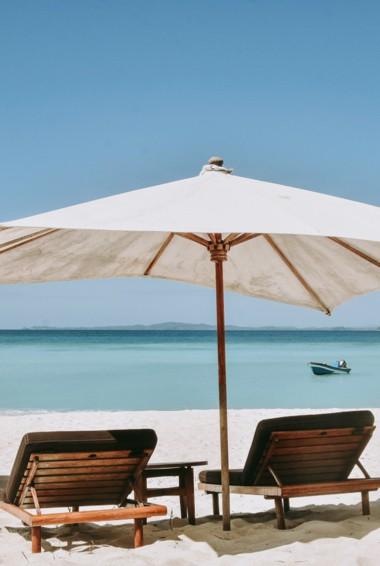 A beautiful beach on Nosy Be, Madagascar