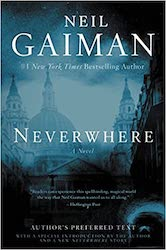 Neverwhere by Neil Gaiman book cover