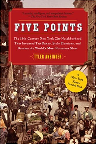 Five points book cover