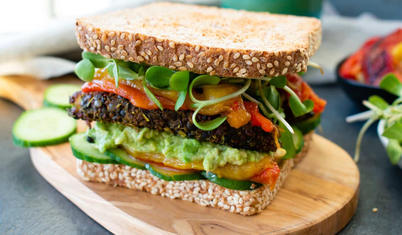 A vegan sandwich in Willisamsburg, NYC /><br /> I love Manhattan. It's my favorite borough in the city, but whenever I leave it, I'm always reminded of how expensive it is. The other boroughs are like half the price of Manhattan. In Queens, for example, you'll find a ton of great and cheap ethnic food.<br /> </p> <h3>Eating in NYC Tip #10: Use the Apps</h3> <p><img src=