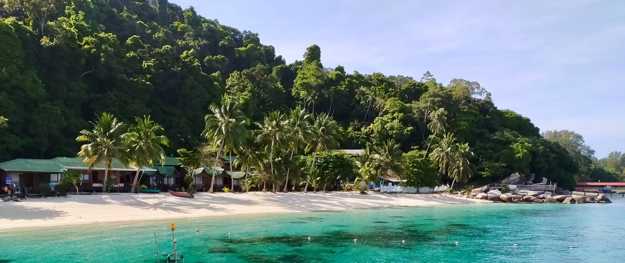 beach view in the Perhentian Islands