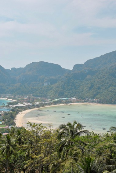 The iconic Ko Phi Phi Viewpoint in Thailand