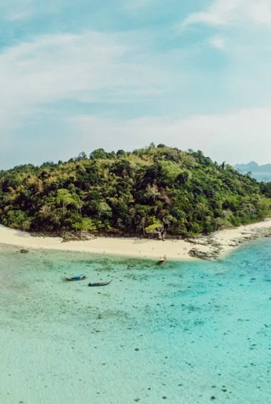 The serene Bamboo Island near Ko Phi Phi, Thailand