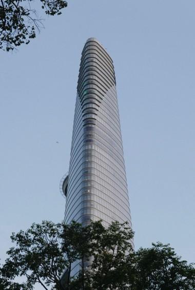 The towering Saigon Skydeck in HCMC, Vietnam