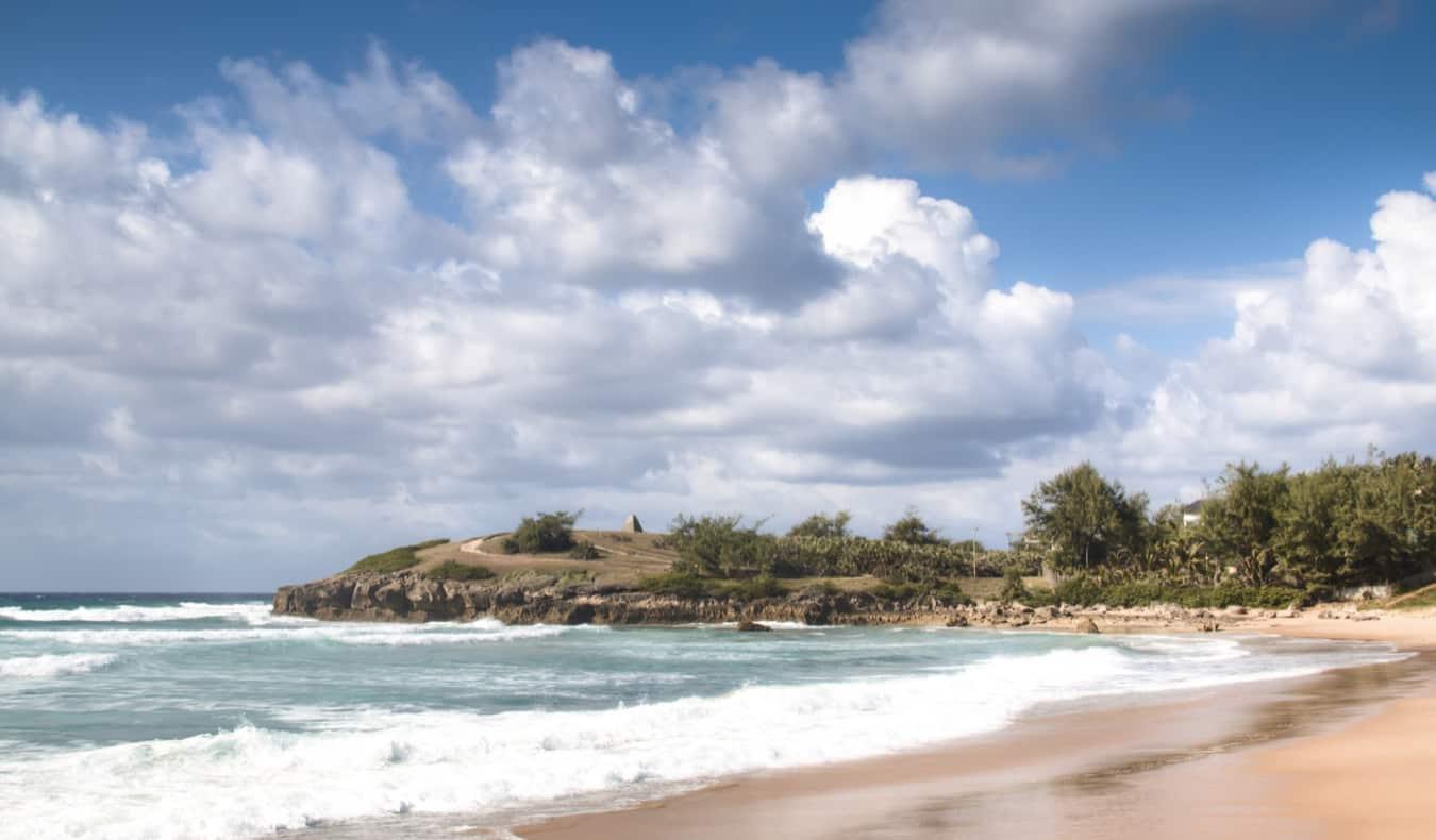 A pretty beach in Tofo, Mozambique