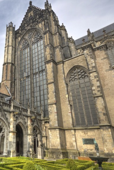 the famous St. Martin's cathedral in Utrecht, know more commonly as the Dom