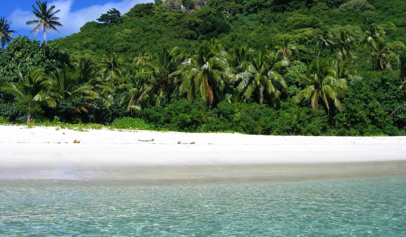 The picturesquee Yasawa Islands in Fiji