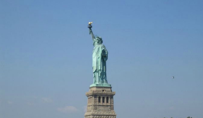 The Statue of Liberty is a must-see on a trip to New York City