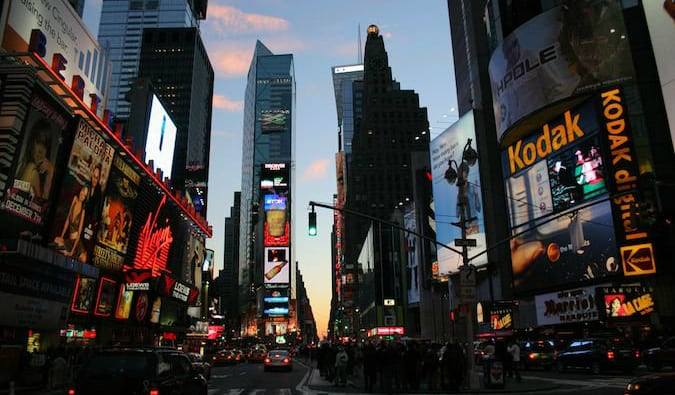 Times Square is a must-see on a trip to New York City