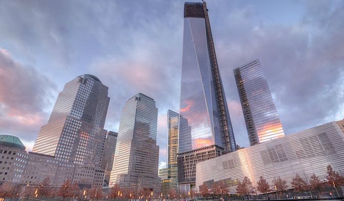 The Freedom Tower and 9/11 Memorial