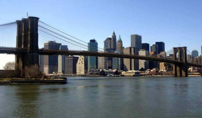 Overlooking the Brooklyn Bridge should be on your NYC itinerary