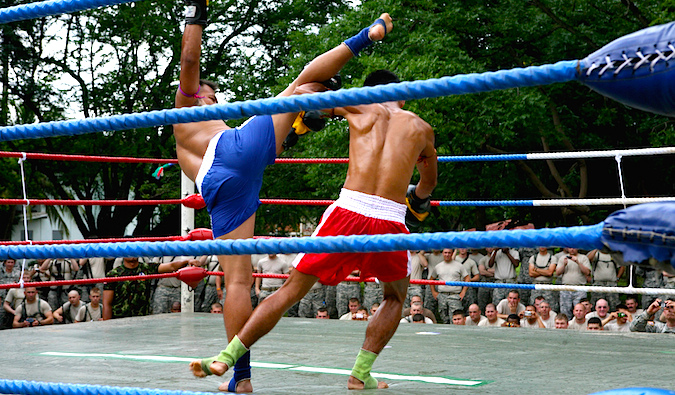 Muay Thai Fighting
