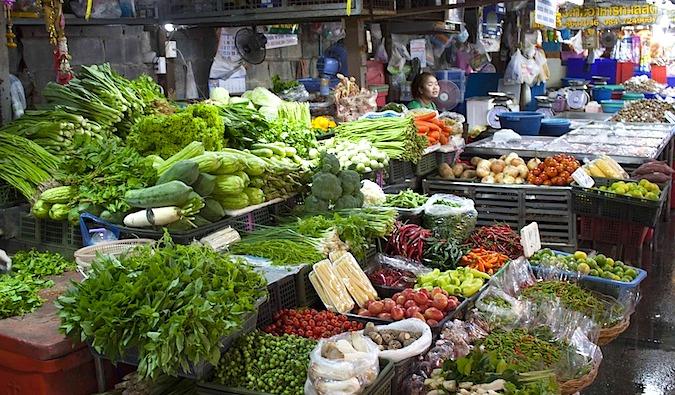Weekend Market in Thailand