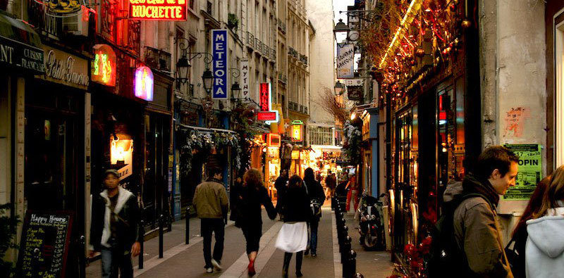 the latin quarter, photo by Brian Jeffery Beggerly (flickr: beggs)
