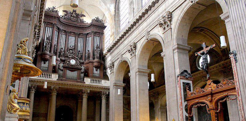 saint sulpice church, photo by @rjhuttondfw (flickr)