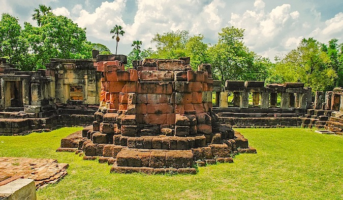 Temple ruins in Korat, Thailand