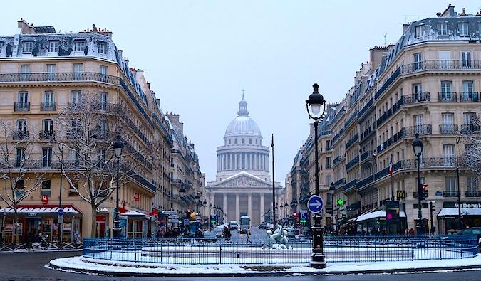 Visitando París en invierno