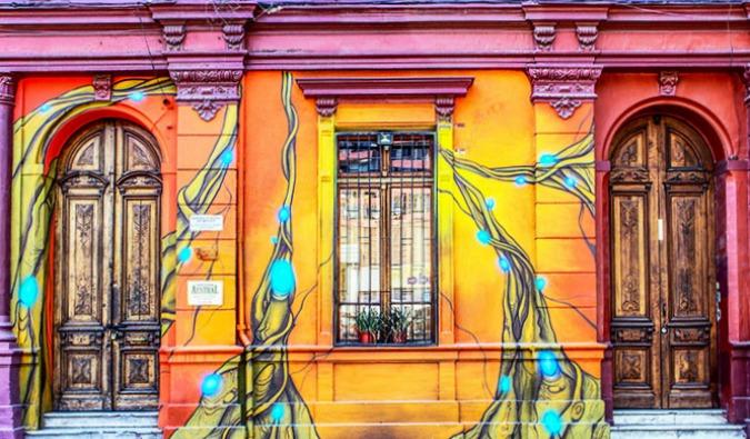 Barrio Brasil Santiago