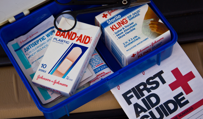 first aid kit for traveling around the world