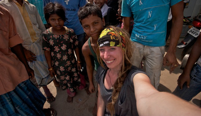 candace rardon in India
