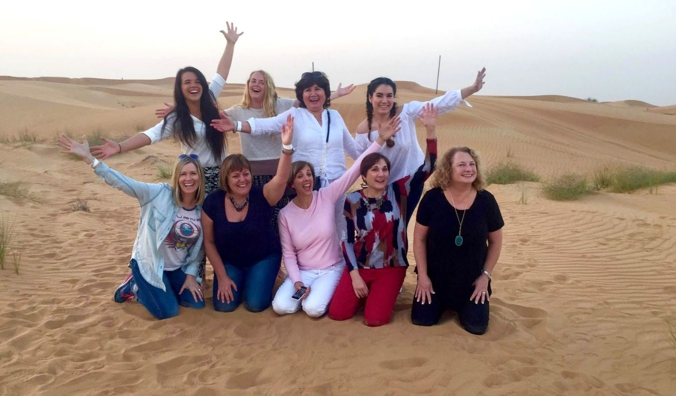 travel community member dubai desert safari