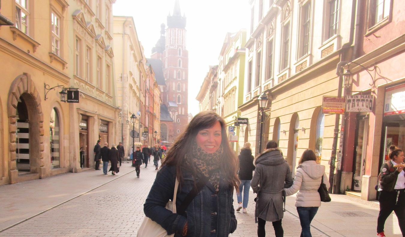 travel community member Allison Broder Krakow, Poland 2016