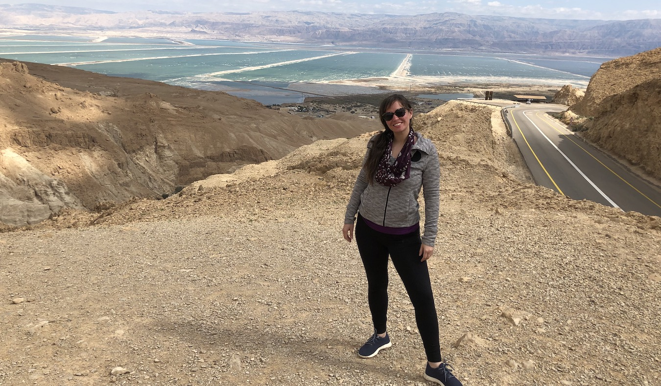 travel community member Allison Broder Dead Sea, Israel, 2019