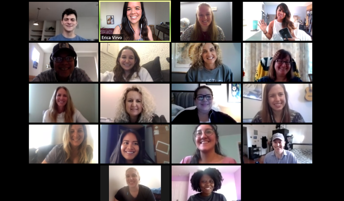 the nomadic network zoom call for our travel community