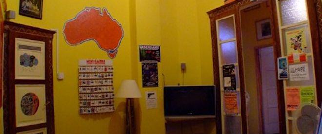 aboriginal Hostel common room